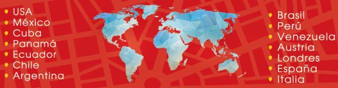 Expologística Países y ciudades