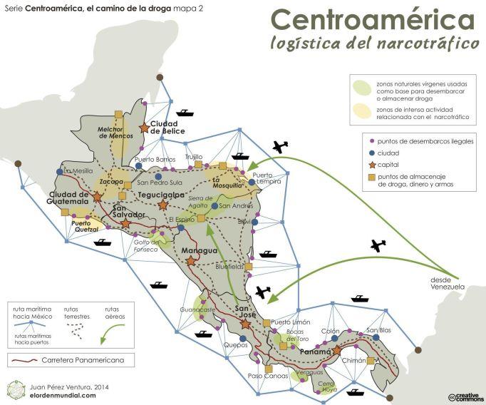 La supply chain del narcotráfico en América Latina